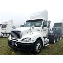 2007 FREIGHTLINER COLUMBIA TRUCK TRACTOR; VIN/SN:1FUJA6CV17LW55944 T/A, MERCEDES 460 ENGINE, 450 HP,