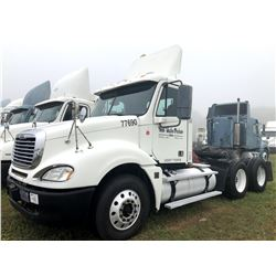 2007 FREIGHTLINER COLUMBIA TRUCK TRACTOR; VIN/SN:1FUJA6CK67LX77690 T/A, DETROIT SERIES 60 ENGINE, 43