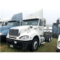 2007 FREIGHTLINER COLUMBIA TRUCK TRACTOR; VIN/SN:1FUJA6CV07LW55952 T/A, MERCEDES 460 ENGINE, 450 HP,