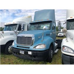2007 FREIGHTLINER COLUMBIA TRUCK TRACTOR; VIN/SN:1FUJA6CV17PW55886 T/A, MERCEDES 460 ENGINE, 450 HP,