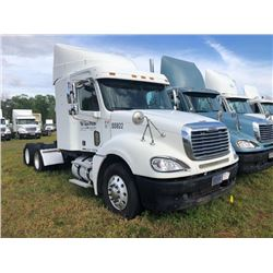 2007 FREIGHTLINER COLUMBIA TRUCK TRACTOR; VIN/SN:1FUJA6CV27LW55922 T/A, SLEEPER, MERCEDES 460 ENGINE