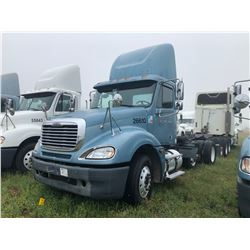 2006 FREIGHTLINER COLUMBIA TRUCK TRACTOR; VIN/SN:1FUJA6CVX6DU26610 T/A, MERCEDES 460 ENGINE, 450 HP,