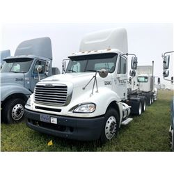 2006 FREIGHTLINER COLUMBIA TRUCK TRACTOR; VIN/SN:1FUJA6CV76PW55843 T/A, MERCEDES 460 ENGINE, 450 HP,