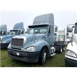 2006 FREIGHTLINER COLUMBIA TRUCK TRACTOR; VIN/SN:1FUJA6CV06DU26485 T/A, MERCEDES 460 ENGINE, 450 HP,