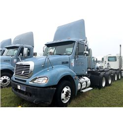 2006 FREIGHTLINER COLUMBIA TRUCK TRACTOR; VIN/SN:1FUJA6CV86DU26508 T/A, MERCEDES 460 ENGINE, 450 HP,