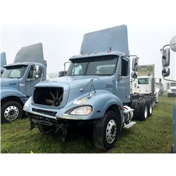 2006 FREIGHTLINER COLUMBIA TRUCK TRACTOR; VIN/SN:1FUJA6CV26DU26505 T/A, MERCEDES 460 ENGINE, 450 HP,