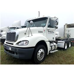 2006 FREIGHTLINER COLUMBIA TRUCK TRACTOR; VIN/SN:1FUJA6CV56PW55842 T/A, MERCEDES 460 ENGINE, 450 HP,