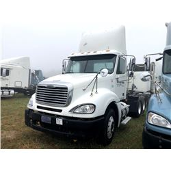 2006 FREIGHTLINER COLUMBIA TRUCK TRACTOR; VIN/SN:1FUJA6CV96PW55844 T/A, MERCEDES 460 ENGINE, 450 HP,