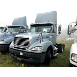 2006 FREIGHTLINER COLUMBIA TRUCK TRACTOR; VIN/SN:1FUJA6CV86PW55849 T/A, MERCEDES 460 ENGINE, 450 HP,