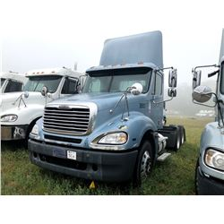 2006 FREIGHTLINER COLUMBIA TRUCK TRACTOR; VIN/SN:1FUJA6CV96DU26503 T/A, MERCEDES 460 ENGINE, 450 HP,