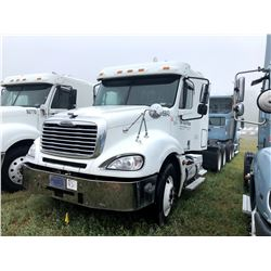 2005 FREIGHTLINER COLUMBIA TRUCK TRACTOR; VIN/SN:1FUJA6CK15LV39842 T/A, SLEEPER, SERIES 60 DETROIT,