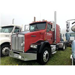 2005 KENWORTH T800 TRUCK TRACTOR; VIN/SN:1XKDDU9X15J094800 T/A, SLEEPER, CAT C13 ENGINE , 10 SPD TRA