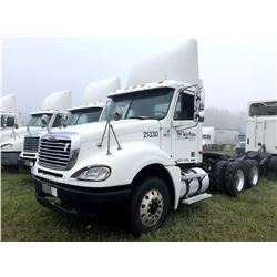2004 FREIGHTLINER COLUMBIA TRUCK TRACTOR; VIN/SN:1FUJA6CV84LM21330 T/A, MERCEDES 460 ENGINE, 410 HP,