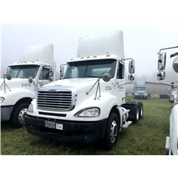 2004 FREIGHTLINER COLUMBIA TRUCK TRACTOR; VIN/SN:1FUJA6CV94LM21336 T/A, MERCEDES 460 ENGINE, 410 HP,
