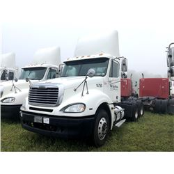 2004 FREIGHTLINER TRUCK TRACTOR; VIN/SN:1FUJA6CV34LN14790 T/A ,MERCEDES 460 ENGINE, 410 HP, 10 SPD T