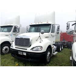 2004 FREIGHTLINER COLUMBIA TRUCK TRACTOR; VIN/SN:1FUJA6CV04LN14813 T/A, MERCEDES 460 ENGINE, 410 HP,