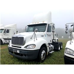 2004 FREIGHTLINER COLUMBIA TRUCK TRACTOR; VIN/SN:1FUJA6CV54LN14807 T/A, MERCEDES 460 ENGINE, 410 HP,