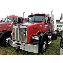 2004 KENWORTH T800 TRUCK TRACTOR; VIN/SN:1XKDDU9X74J056955 T/A, SLEEPER, CAT C12 ENGINE, 10 SPD TRAN