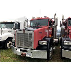 2004 KENWORTH T800 TRUCK TRACTOR; VIN/SN:1XKDDU9X84J053952 T/A, SLEEPER, CAT C12 ENGINE, 10 SPD TRAN