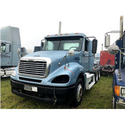 2003 FREIGHTLINER COLUMBIA TRUCK TRACTOR; VIN/SN:1FUJA6AS83LK36654 T/A, CAT C12 ENGINE, 10 SPD TRANS