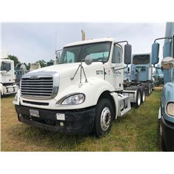2003 FREIGHTLINER CL120 TRUCK TRACTOR; VIN/SN:1FUJA6CG03LL02770 T/A, DETROIT SERIES 60 ENGINE, 430 H