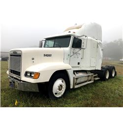 2000 FREIGHTLINER FLD120 TRUCK TRACTOR; VIN/SN:1FUYDWEB0YDF54207 T/A, CAT C12 ENGINE, 10 SPD TRANS (