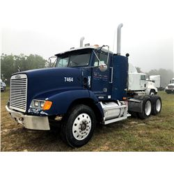 1998 FREIGHTLINER FLD120 TRUCK TRACTOR; VIN/SN:2FUY3WDB8WA907464 T/A, CAT C12 ENGINE, 10 SPD TRANS,