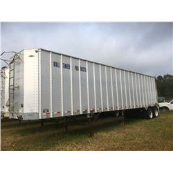 2006 ITI SDS-42 CHIP VAN; VIN/SN:1Z92A42206T199077 T/A, OPEN TOP, 42' LENGTH, TARP, 285/75R24.5 TIRE