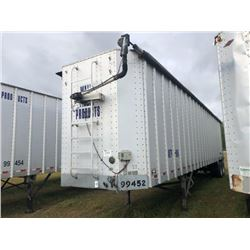 2006 ITI SDS-43 CHIP VAN; VIN/SN:1Z92A43206T199452 T/A, OPEN TOP, 43' LENGTH, ELECTRIC TARP, 285/75R