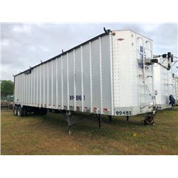 2006 ITI SDS-43 CHIP VAN; VIN/SN:1Z92A43296T199451 T/A, OPEN TOP, 43' LENGTH, ELECTRIC TARP, 295/75R