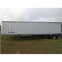 2006 ITI SDS-43 CHIP VAN; VIN/SN:1Z92A43226T199453 T/A, OPEN TOP, 43' LENGTH, TARP, 295/75R22.5 TIRE