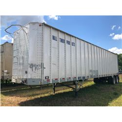 2005 ITI SDS-43 CHIP VAN; VIN/SN:1Z92A43225T199032 T/A, OPEN TOP, 43' LENGTH, TARP, 285/75R24.5 TIRE