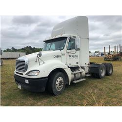 2009 FREIGHTLINER COLUMBIA TRUCK TRACTOR; VIN/SN:1FUJA6CV79DAD9869 T/A, MERCEDES 460 ENGINE, 10 SPD