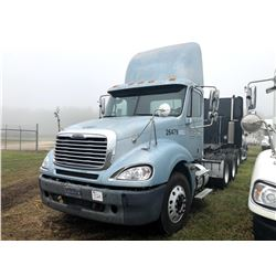 2006 FREIGHTLINER COLUMBIA TRUCK TRACTOR; VIN/SN:1FUJA6CV56DU26479 T/A, MERCEDES 460 ENGINE, 10 SPD
