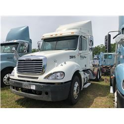 2004 FREIGHTLINER COLUMBIA TRUCK TRACTOR; VIN/SN:1FUJA6CV64LM29815 T/A, SLEEPER, MERCEDES 460 ENGINE