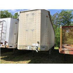1997 PEERLESS 43CTS CHIP VAN; VIN/SN:1PLE04322VPC23085 T/A, OPEN TOP, 43' LENGTH, TARP, 295/75R22.5