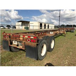 STRICK CONTAINER TRAILER; VIN/SN:59301 T/A, 40' LENGTH, 295/75R22.5 TIRES, (**TITLE DELAY**)