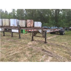 1990 STRICK CONTAINER TRAILER; VIN/SN:1S12GC406MB670768 T/A, 40' LENGTH, 295/75R22.5 TIRES, (**TITLE