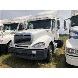2007 FREIGHTLINER CL120 TRUCK TRACTOR; VIN/SN:1FUJA6CV67LW55907 T/A, SLEEPER, MERCEDES 460 ENGINE, 4
