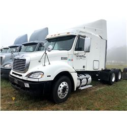 2006 FREIGHTLINER COLUMBIA TRUCK TRACTOR; VIN/SN:1FUJA6CV36LW85980 T/A, SLEEPER, MERCEDES 460 ENGINE