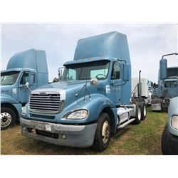 2003 FREIGHTLINER COLUMBIA TRUCK TRACTOR; VIN/SN:1FUJA6AS43LK58635 T/A, CAT C12 ENGINE, 10 SPD TRANS