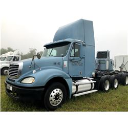 2003 FREIGHTLINER COLUMBIA TRUCK TRACTOR; VIN/SN:1FUJA6AS93LK58162 T/A, CAT C12 ENGINE, 10 SPD TRANS