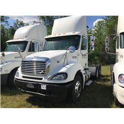 2004 FREIGHTLINER TRUCK TRACTOR; VIN/SN:1FUJA6CV24LN14781 T/A ,MERCEDES 460 ENGINE, 410 HP, 10 SPD T