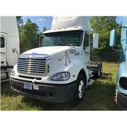 2008 FREIGHTLINER COLUMBIA TRUCK TRACTOR; VIN/SN:1FUJA6CV88DAA5261 T/A, MERCEDES 460 ENGINE, 450 HP,