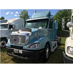 2003 FREIGHTLINER COLUMBIA TRUCK TRACTOR; VIN/SN:1FUJA6AS03LK36695 T/A, CAT C12 ENGINE, 10 SPD TRANS