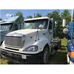 2004 FREIGHTLINER TRUCK TRACTOR; VIN/SN:1FUJA6CV14LN14805 T/A ,MERCEDES 460 ENGINE, 410 HP, 10 SPD T