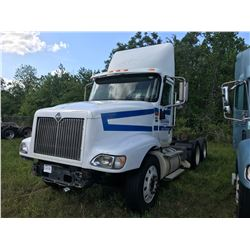 2007 INTERNATIONAL 9400I TRUCK TRACTOR; VIN/SN:2HSCNSCR37C433259 T/A, 475 HP CAT C15 ENGINE, 10 SPD
