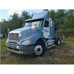 2002 FREIGHTLINER CL120 TRUCK TRACTOR; VIN/SN:1FUJA6AS12LK96239 T/A, SLEEPER, CAT C12 ENGINE, 10 SPD