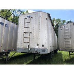 1998 PEERLESS 43-CTS CHIP VAN; VIN/SN:1PLE04321WPC26920 T/A, OPEN TOP, 43' LENGTH, TARP, 285/75R24.5