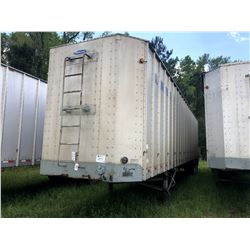 1998 PEERLESS 43-CTS CHIP VAN; VIN/SN:1PLE0432XWPC26916 T/A, OPEN TOP, 43' LENGTH, TARP, 285/75R24.5